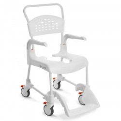 Chaise de douche/toilette CLEAN, Blanc, 55 cm
