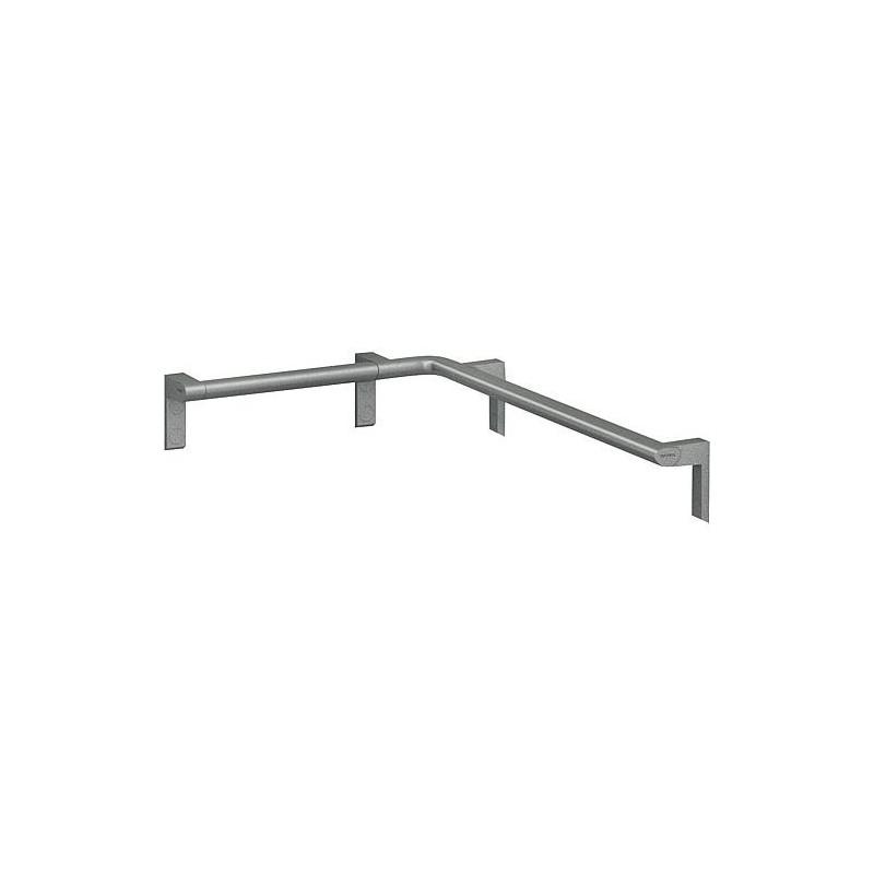 Barre d\'appui d\'angle CAVERE 450 x 750 mm, gauche