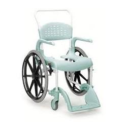Chaise de douche CLEAN grande roue Lagoon vert