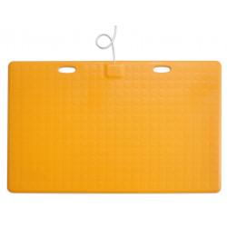 Tapis sensible CAREMAT A01C jaune 1100x700