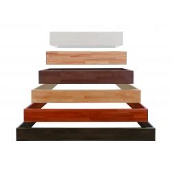 Cadre de lit Wood-Line Classic 16, 100 x 200 x 16