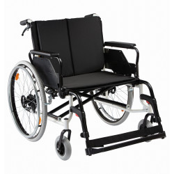 Fauteuil CANEO XL 56 cm avec frein accompagnant
