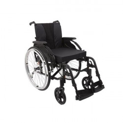 """Fauteuil roulant Action 3NG \""""Black Edition\"""" 43 cm"""