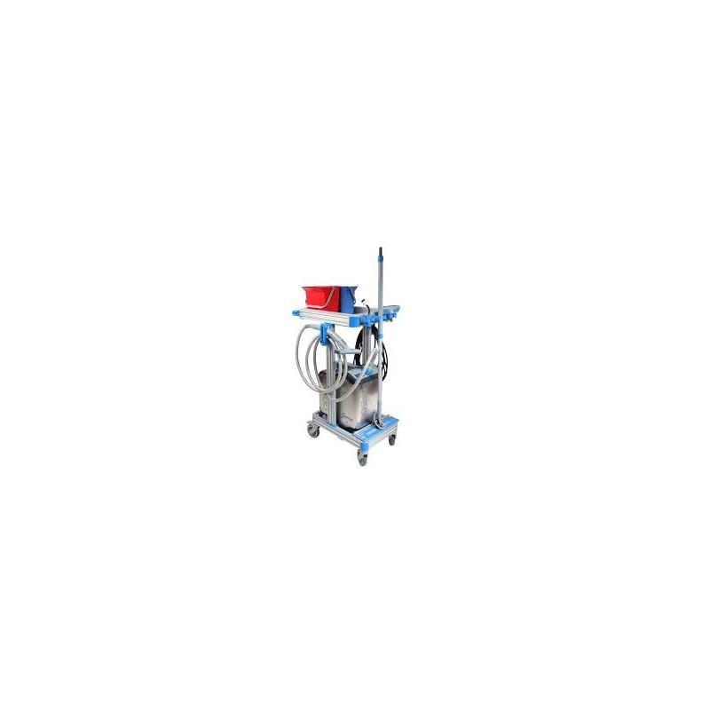 Générateur vapeur SANIVAP SP400 avec chartiot et accessoires