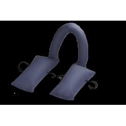 Coussin de confort pour fauteuil avec tube central