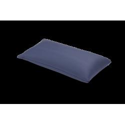 Coussin rectangulaire en PU, 60x30 cm avec housse